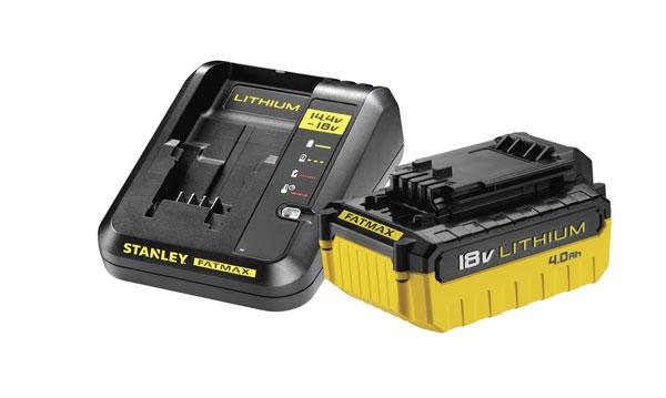 Baterias e Carregadores Stanley