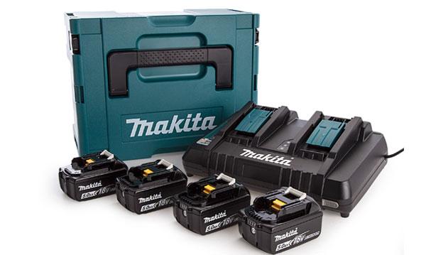 Baterias, Carregadores e Malas Makita