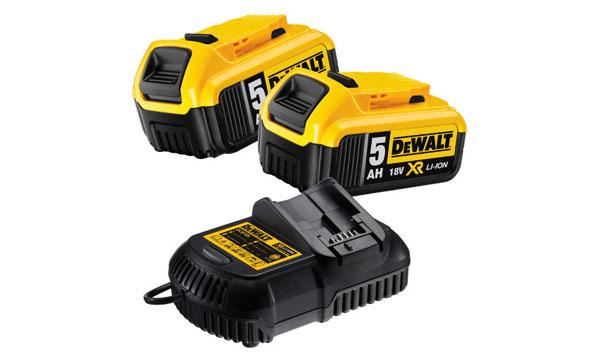 Baterias e Carregadores DeWalt