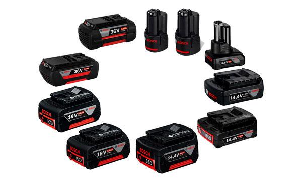 Baterias e Carregadores Bosch