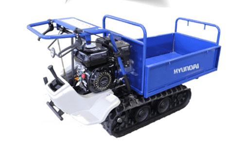 Carreta de lagartas Hyundai