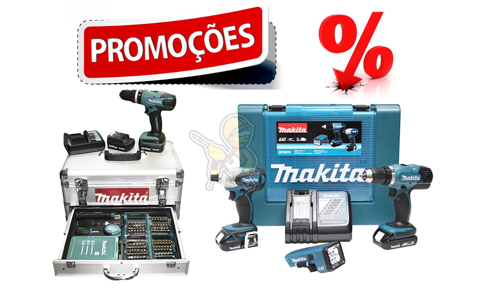 Promoções Máquinas 10,8V