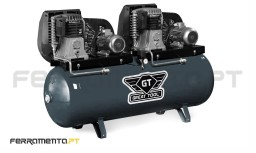 Compressor 500L 5,5+5,5HP Great Tool