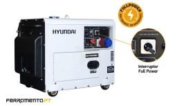 Gerador Diesel Silencioso 7,5 kVA GT Power by Hyundai GTDHY8500SE-T