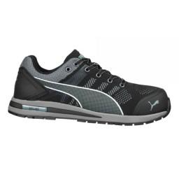 Sapatos de Proteção ELEVATE KNIT BLACK LOW S1P SRC Puma 643160