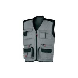 Colete Multi-bolsos  Cinzento Industrial Starter 8772025