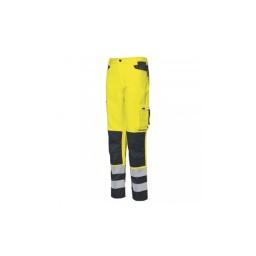 Calças de Alta Visibilidade Amarelo Industrial Starter 8230B013