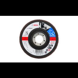 Disco de lixa em lamelas X571 115mm G40 P/ Metal Bosch 2608607322