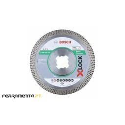 Disco de Diamante P/ Cerâmica 125mm X-LOCK Bosch 2608615135