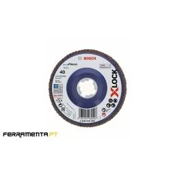 Disco de Lamelas X571 115mm x 40gr X-LOCK Bosch 2608619205