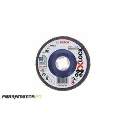 Disco de Lamelas X571 125mm x 80gr X-LOCK Bosch 2608619211