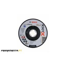 Disco de Corte 125mm X-LOCK Expert P/ Metal Bosch 2608619254