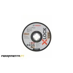 Lata 10UN discos de corte 125mm X-LOCK P/ Inox Bosch 2608619267