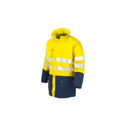 Casaco Acolchoado  Amarelo/ Azul Industrial Starter 04634038