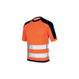 T-Shirt bicolor  Laranja / Azul Industrial Starter 08186047