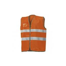 Colete Refletivo Laranja Industrial Starter 01210NB