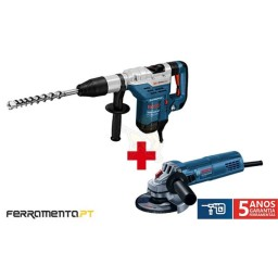 Martelo SDS-Max Bosch GBH 5-40 DCE Professional Promo