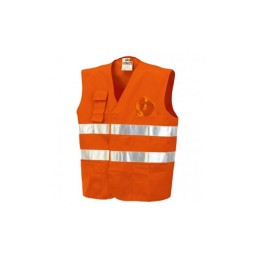 Colete Laranja com bolso Industrial Starter 01250