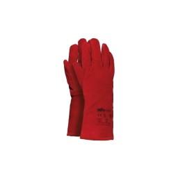 Luvas de couro vermelho Nº10 Industrial Starter 0712110