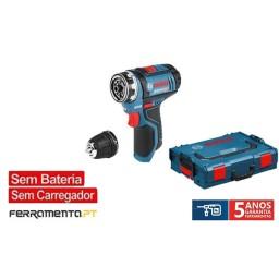 Aparafusadora FlexiClick GSR 12V-15 FC + L-BOXX Bosch