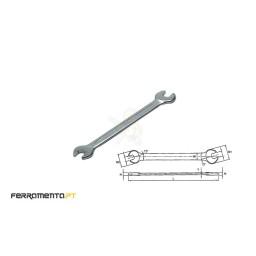 Chave de Bocas Métricas 6x7 Teng Tools 620607