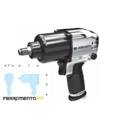 """Chave de Impacto Pneumática Alumínio 1/2"""" Facom NS.1400F"""