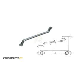 Chave Luneta Métrica 12x13 mm Teng Tools 631213