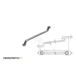 Chave Luneta Métrica 8x9mm Teng Tools 630809