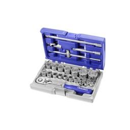 """Chaves de Caixa e Acessórios 22pcs 1/2"""" Expert E032900"""