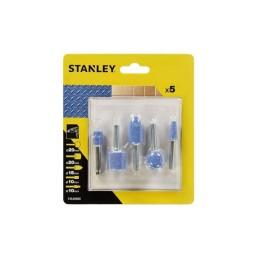 Conjunto de 5 Pontas Abrasivas Stanley STA30000-XJ