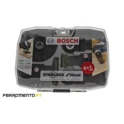 Conjunto de Acessórios p/ Multiferramenta 7un Bosch 2608664623