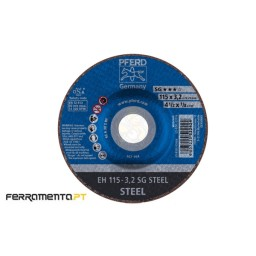 Disco Corte de Metal SG STEEL 115mm Pferd 4007220522424