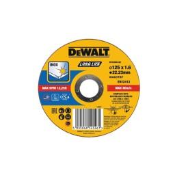 Disco De Corte De Alto Desempenho Para Aço Inox-OSA 125x1.6mm Dewalt DT43906-QZ