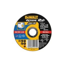 Disco De Corte Plano Extreme Para Aço Inox 115x1.6mm Dewalt DT43935-QZ