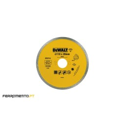 Disco de Diamante P/ Seco e Húmido 110x20mm DeWalt DT3714