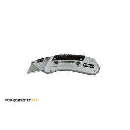 Faca de Bolso com Lâmina Deslizante 145mm Stanley 0-10-810