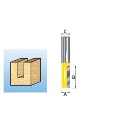 Fresa Recta 1 Navalha 6-8mm Makita D-10039