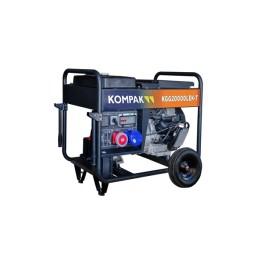 Gerador Gasolina FULL POWER 18,75 kVA Kompak KGG20000LEK-T