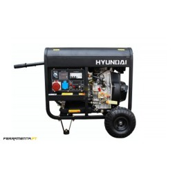 Gerador Gasolina Trifásico Hyundai HY9000LEK-3