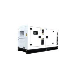 Gerador Industrial Trifásico 112 kVA Hyundai DHY 125 KSE