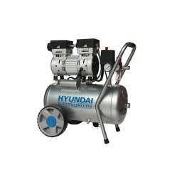 Compressor Silencioso Isento De Óleo 24L Hyundai HYAC24-1S
