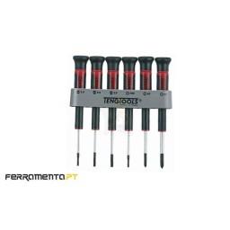 Jogo Chaves de Precisão 6Un (F,PH) Teng Tools MDM706