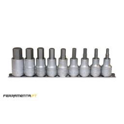 Chaves de Caixa 1/2'' 9 Peças Teng Tools M1212