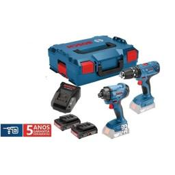 KIT COMBO 18V Bosch GSB 18V-21 + GDR 18V-160 Professional