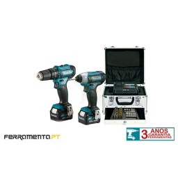 Kit Combo HP333D + TD110D Makita CLX228SMX1