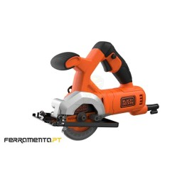 Mini Serra Circular 85mm 400W Black&Decker BES510-QS