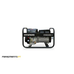 Motosoldador 8 kVA Hyundai HYKW220DC-3