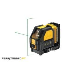 Nivel Laser Luz Verde Cruzado DeWalt DCE088D1G-QW