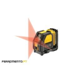 Nivel Laser Luz Vermelha Cruzado DeWalt DCE088D1R-QW