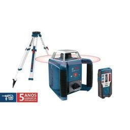 Nível Laser Rotativo Bosch GRL 400 H  + LR 1 + BT 170 HD Professional